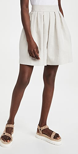 Rebecca Taylor - Linen Suiting Shorts