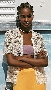 Rebecca Taylor Pina 刺绣短版衬衫