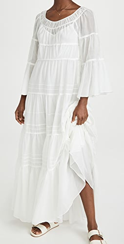 Rebecca Taylor - Ruched Tier Dress