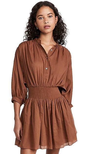 Rebecca Taylor Voile Shirt Dress