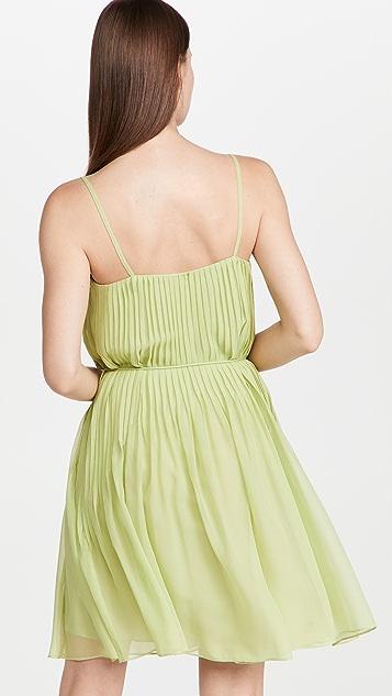 Rebecca Taylor Straight Pintuck Dress