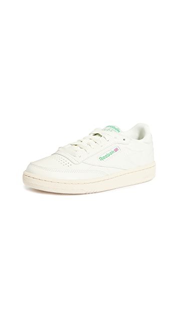 Reebok Club C 85 Classic Lace Up Sneakers - 10 Spring wardrobe essentials