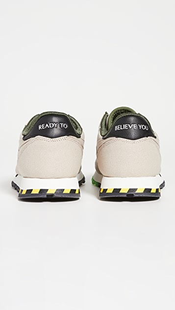 Reebok X Ghostbusters CL Leather Sneakers