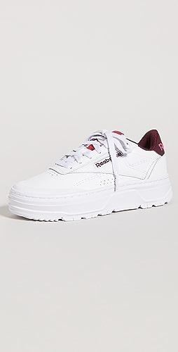 Reebok - Club C 双几何图案运动鞋