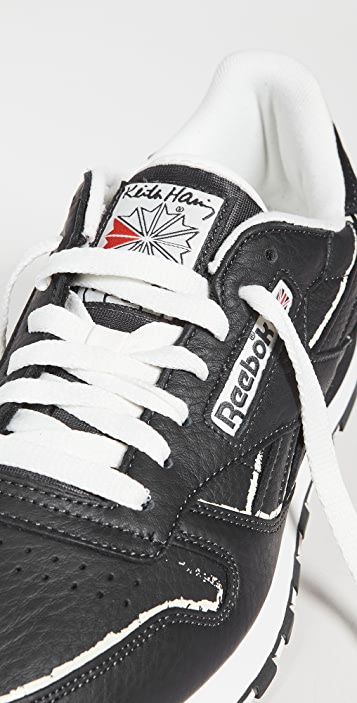 Reebok X Keith Haring Classic Leather Sneakers