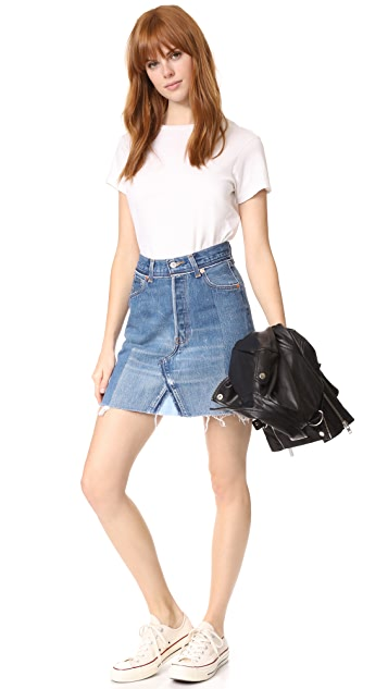 RE/DONE x Levi's High Waisted Skirt