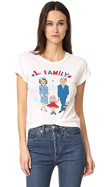 RE/DONE 1st Family Graphic Tee