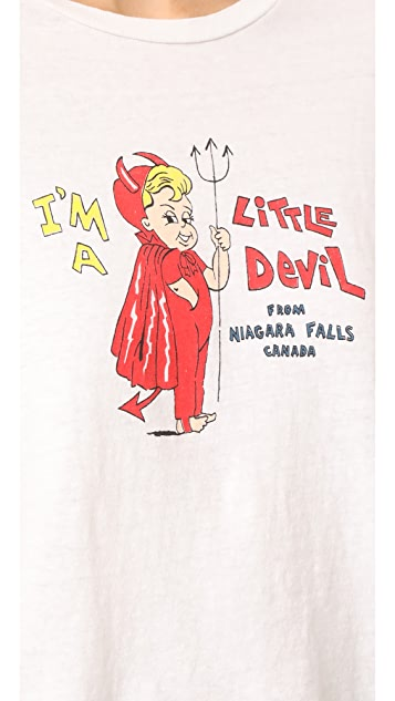RE/DONE Little Devil Graphic Tee