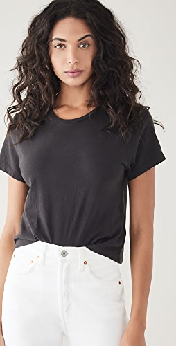 RE/DONE - x Hanes 1950s Boxy Crop Tee