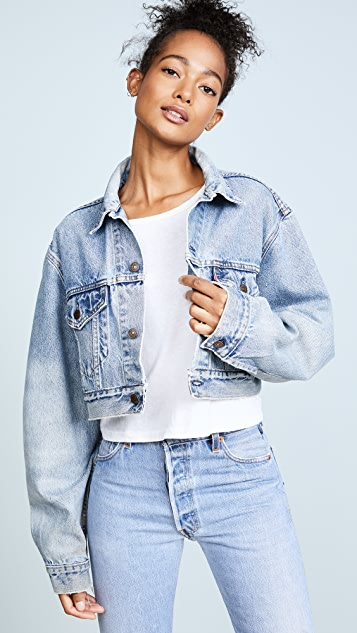 RE/DONE x Levi's Cropped Jacket