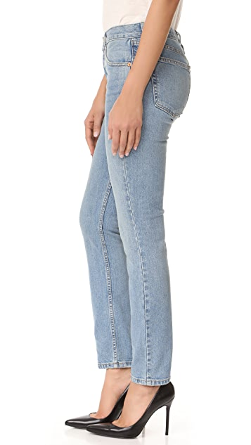 RE/DONE Originals Stretch Straight Skinny Jeans