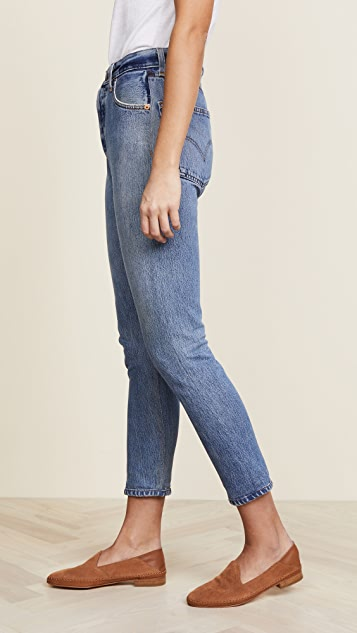 RE/DONE x Levi's High Rise Ankle Crop Jeans