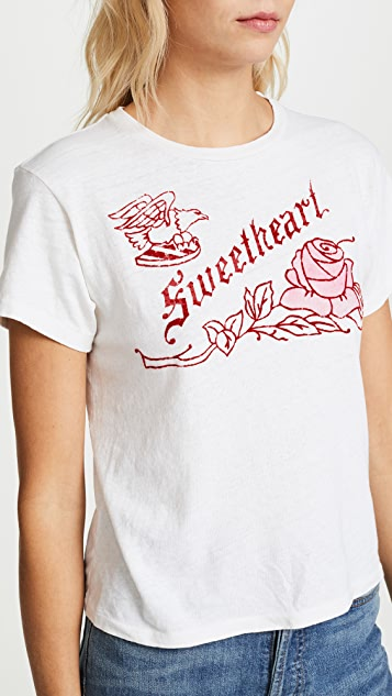 RE/DONE Classic Sweetheart Tee