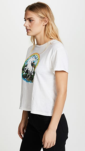 RE/DONE The Unicorn Dream Tee