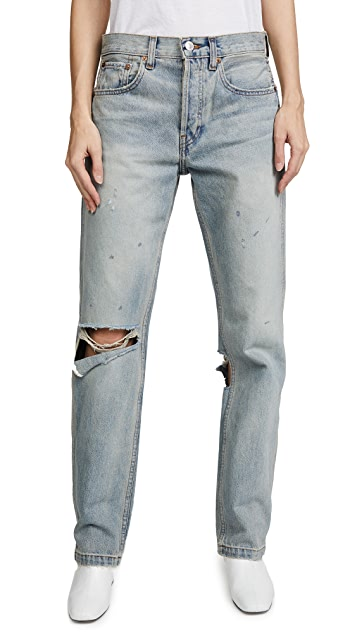 RE/DONE Grunge Straight Jeans