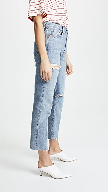 RE/DONE Stove Pipe Jeans