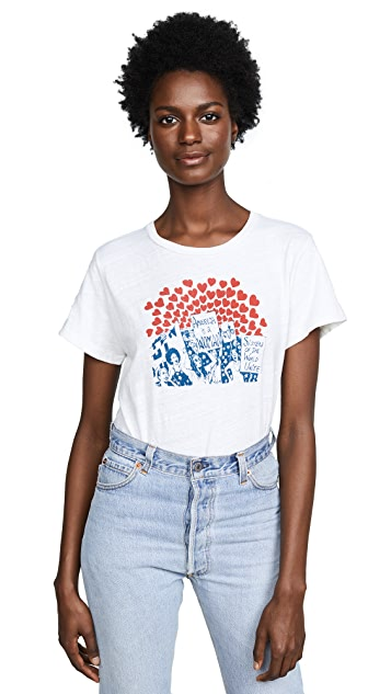 RE/DONE Classic Women of the World Tee