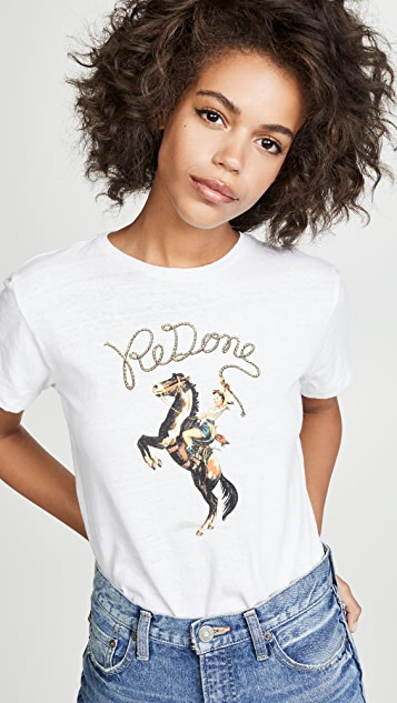 RE/DONE Cowgirl Classic Tee