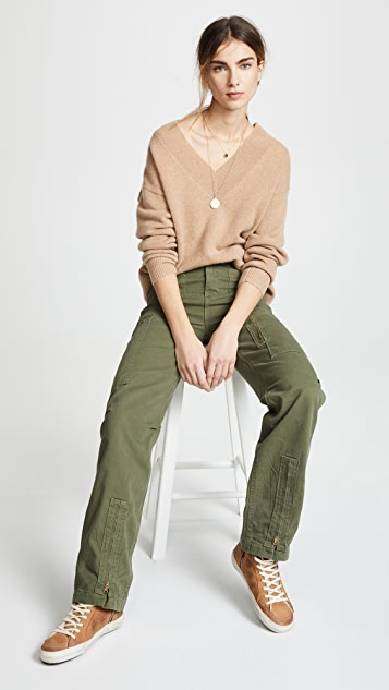 RE/DONE High Rise Cargo Pants