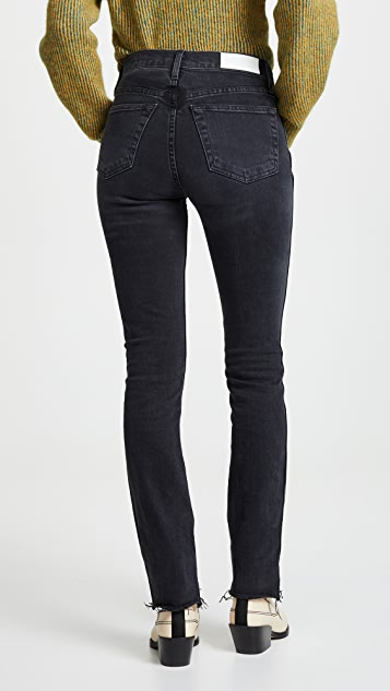 RE/DONE Double Needle Long Jeans