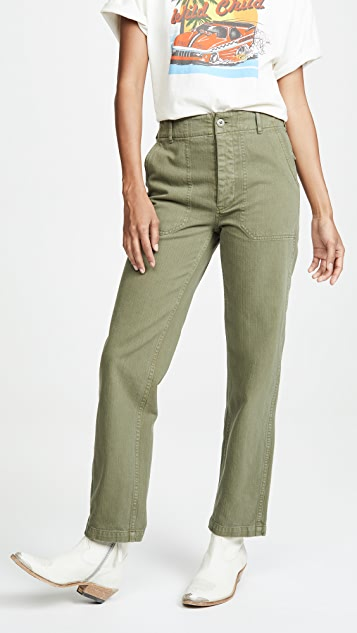 RE/DONE 50's Military Trousers