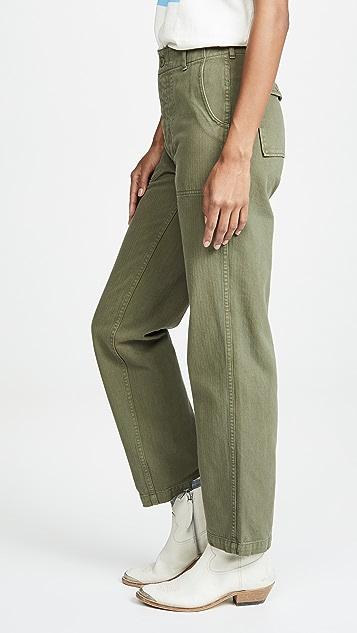RE/DONE 50 年代复古军旅风格长裤