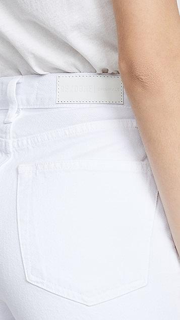 RE/DONE 60 年代复古风格超高腰阔腿牛仔裤