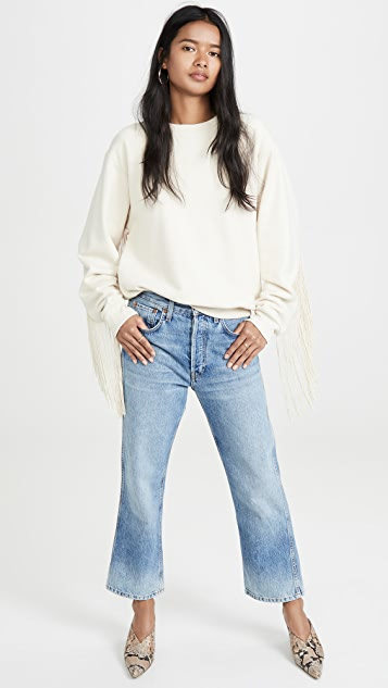 RE/DONE The 90s Low Slung Crop Jeans