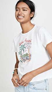 RE/DONE Aloha Classic Tee