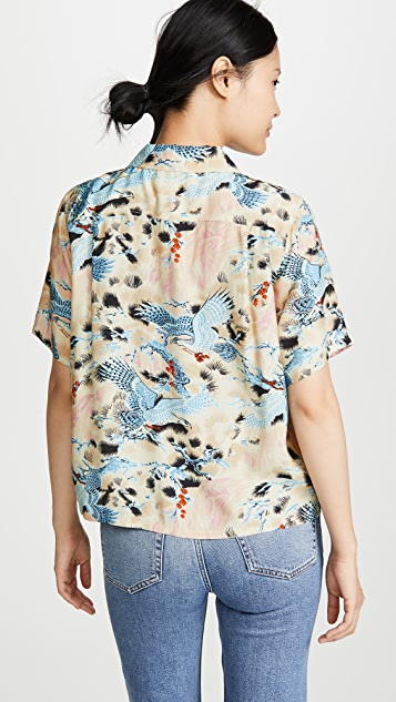 RE/DONE Hawaiian Shirt