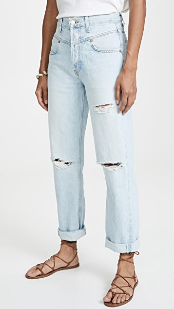 RE/DONE The 90's Double Yoke Jeans