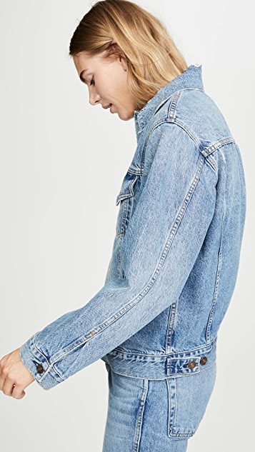 RE/DONE Oversized Trucker Jacket