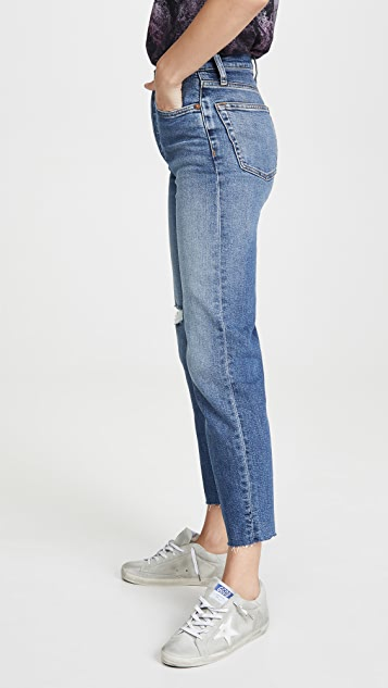 RE/DONE Ultra High Rise Stove Pipe Jeans
