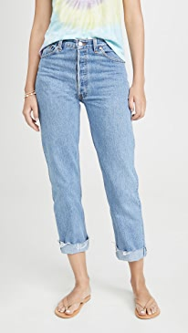 90s Loose Straight Jeans