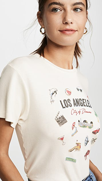 RE/DONE '70s Oversized Los Angeles Tee