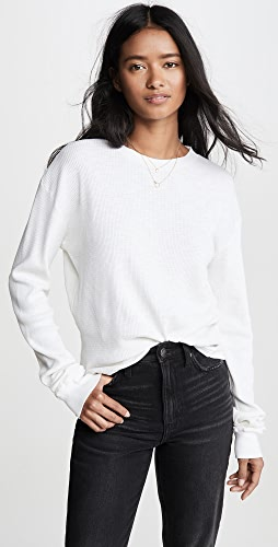 RE/DONE - Thermal Long Sleeve T-Shirt