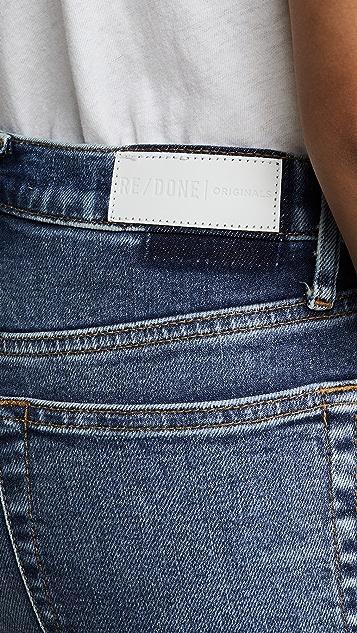 RE/DONE 五十年代复古风情烟管裤