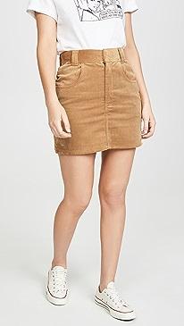 90s Ultra High Rise Western Pocket Skirt