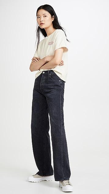 RE/DONE Kool Kat 90s 宽大 T 恤