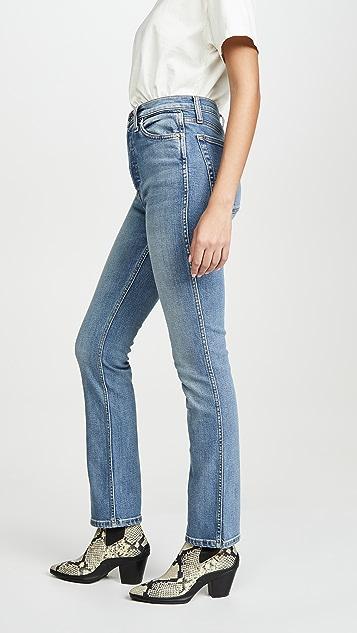 RE/DONE 双针脚长牛仔裤