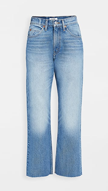 RE/DONE 70s Crop Boot Jeans