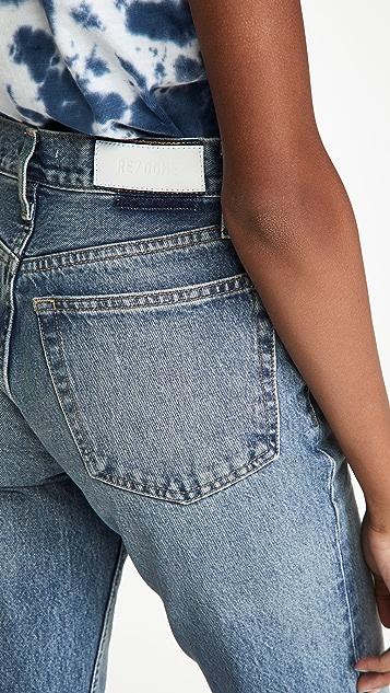 RE/DONE 90s 宽松直脚裤
