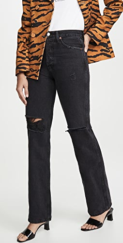 RE/DONE - High-Rise Loose Jeans