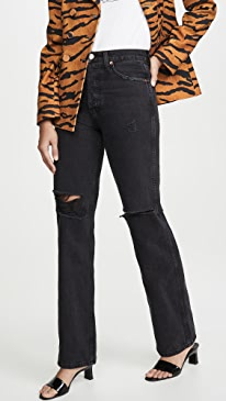 High-Rise Loose Jeans