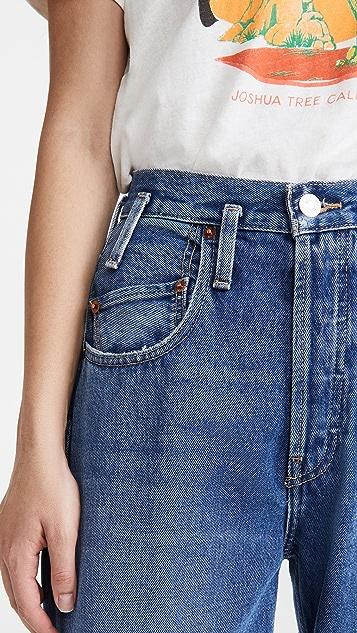 RE/DONE '80s Peg Leg Jeans
