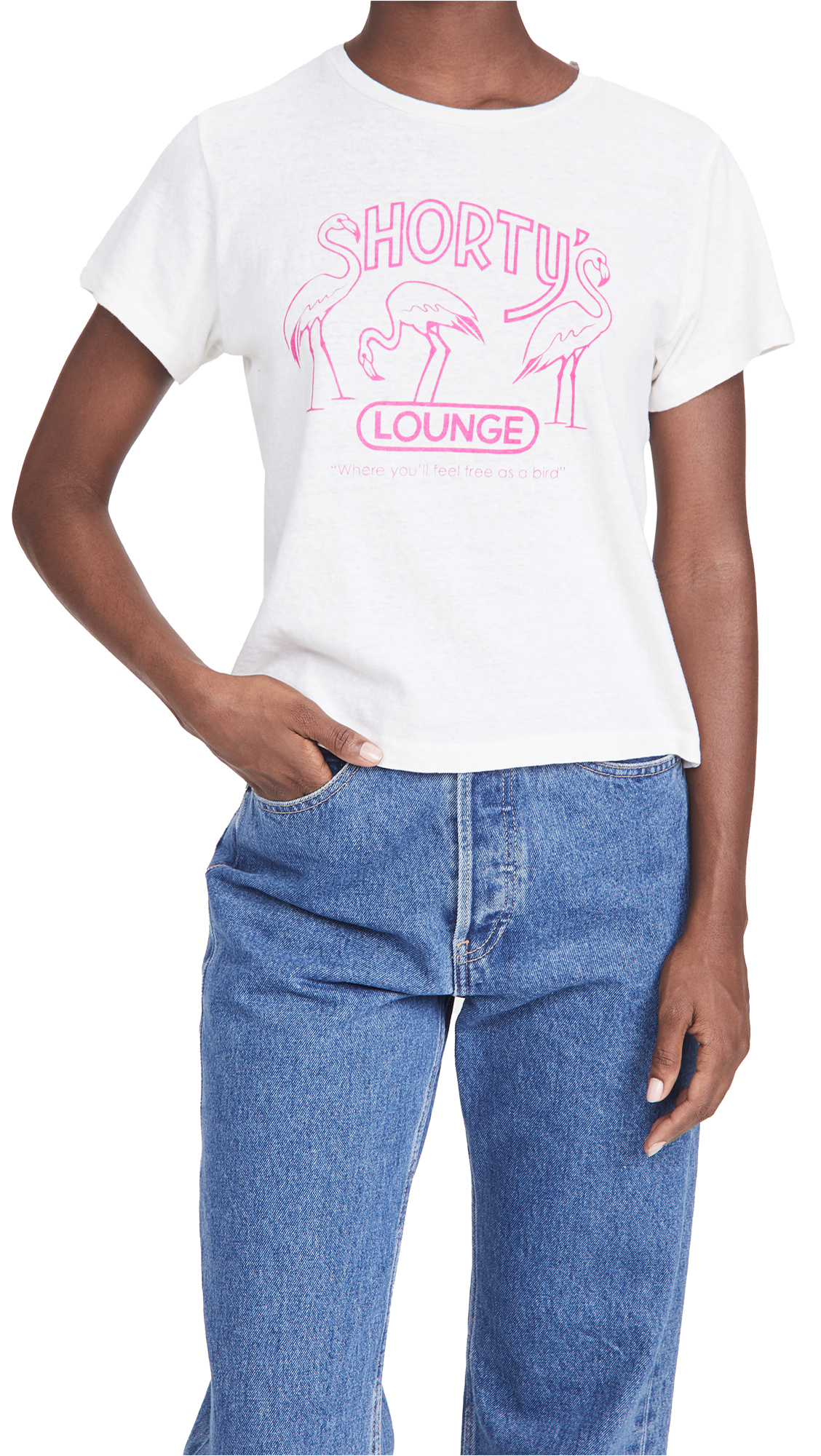 RE/DONE Shorty's Classic Tee