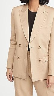 RE/DONE 双排扣西装外套