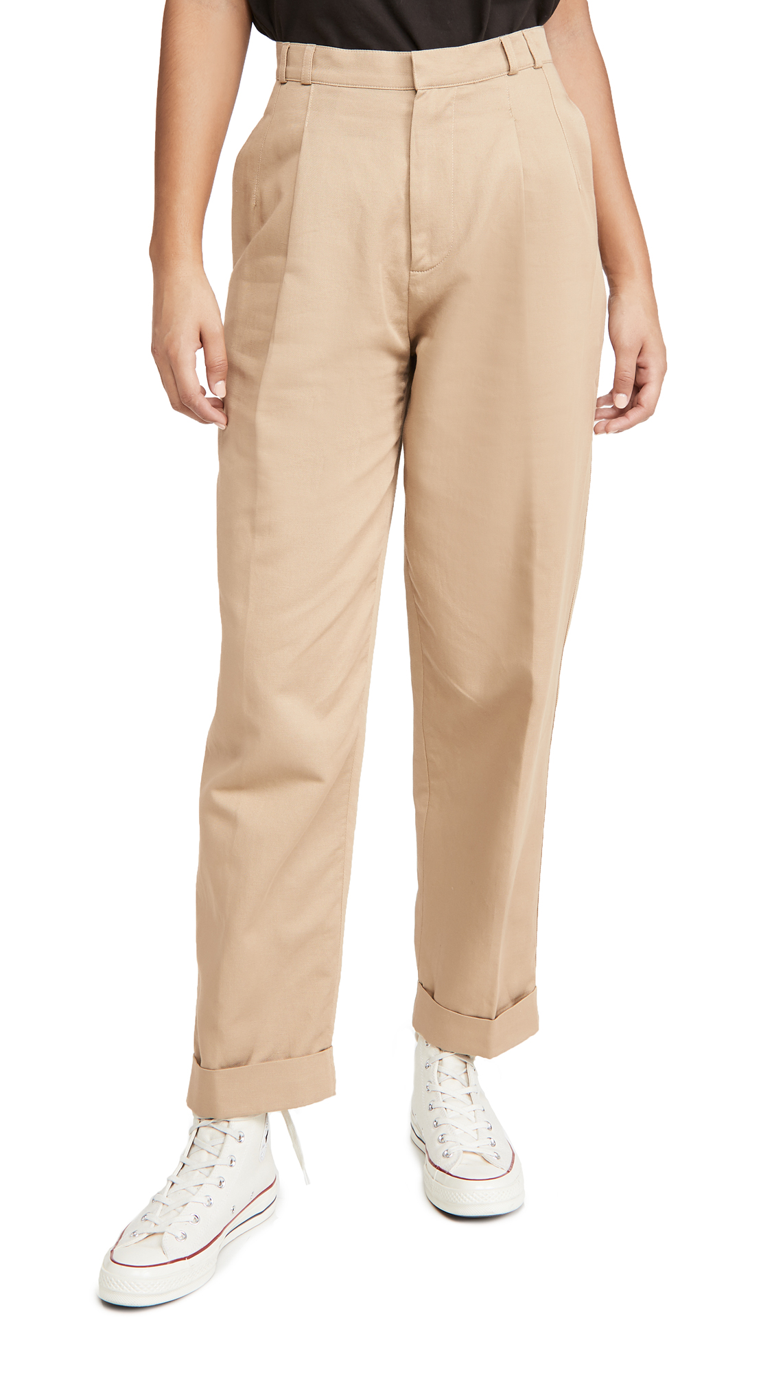 RE/DONE 80s Pleated Trousers