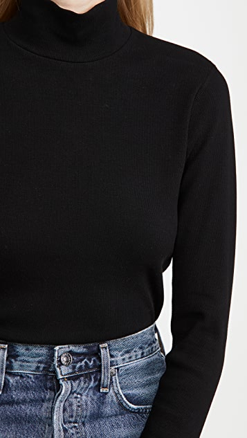 RE/DONE 60s Mock Neck Long Sleeve