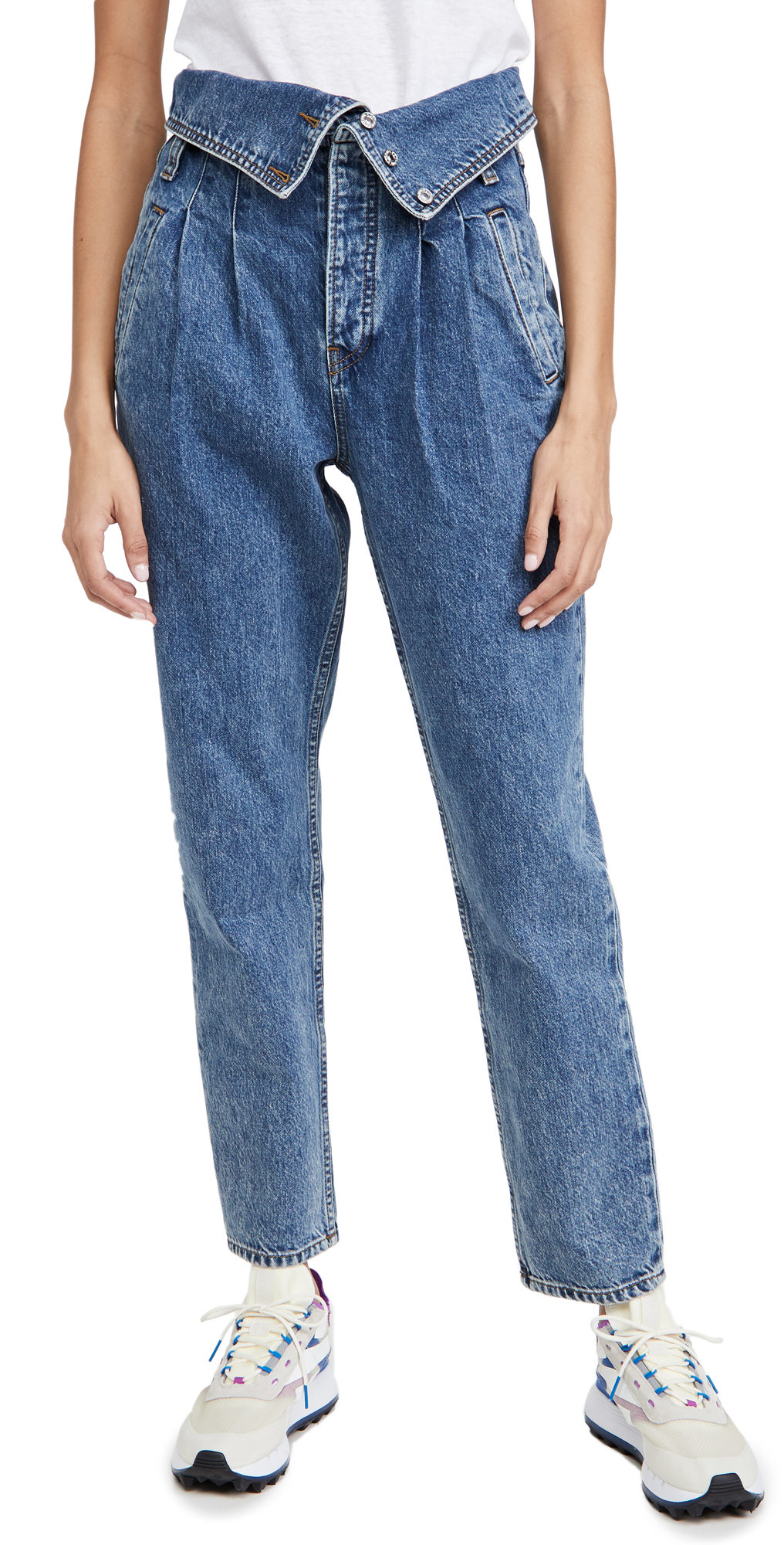 RE/DONE 80s Fold Over Jeans